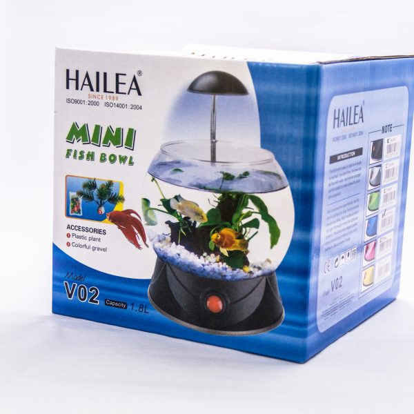 HAILEA MINI FISH BOWL 1.8L V02