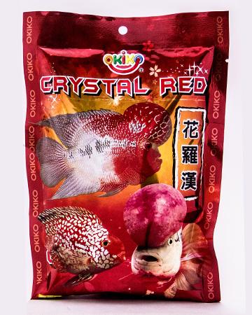 OKIKO CRYSTAL RED FLOWERHORN FOOD 100G