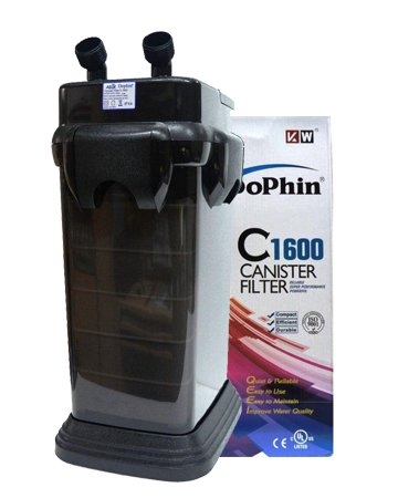DOPHIN CANISTER FILTER MODEL C-1600